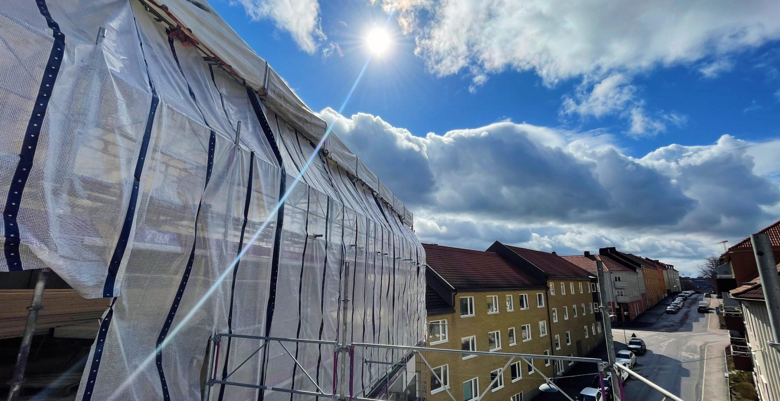 Ombyggnad Karlagatan 2021